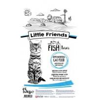 Little Friends Balıklı Kedi Maması 15 Kg
