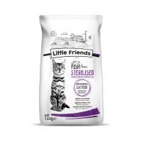 Little Friends Sterilised Balıklı Kedi Maması 12 Kg