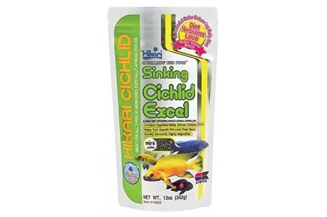 Hikari Cichlid Excel Sinking Mini Pellet 342 gr