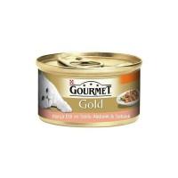 Gourmet Gold Alabalık ve Sebzeli Kedi Konservesi 85g 24 lü