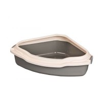 2203 Triangular Kitty Litter / Kedi Tuvaleti 56cm.x43cm.x17cm.