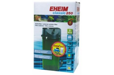Eheim CLassic 250 2213-05 Dış Filtre 8 W-250 L-440 L/s Musluklu&MedSet