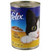 Felix Tavuklu Konserve Kedi Maması 400 Gr