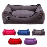 Lepus Soft Dokuma Kumaş Kedi ve Köpek Yatağı Large 70x86x22h cm