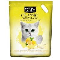 Kit Cat Lemon Limon Kokulu Silika Kedi Kumu 5 Lt