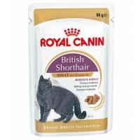 Royal Canin British Shorthair Adult Pouch Yetişkin Kedi Konservesi 85gr.