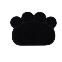 Happy Paws Kedi Paspası Siyah 60x45 Cm.