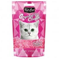 Kit Cat Pink Vanilla Topaklanan Vanilya Kokulu Silika Kedi Kumu 4 Lt
