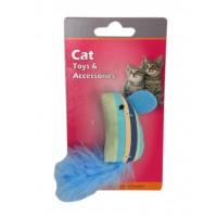 Eastland Hışırtılı Tüylü Kedi Oyuncağı 13,5 Cm