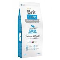 *Brit Care Junior Large Tahılsız Somonlu Büyük Irk Yavru Köpek Maması 12 Kg