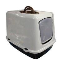 Happy Paws Küçük Kapalı Kedi Tuvaleti 50x40 Cm