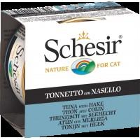 Schesir Jel İçinde Ton Balıklı Konserve Kedi Maması 85 Gr
