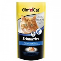 Gimcat Schnurries Somon & Taurin Kalp Şeklinde Ödül Tableti 40 Gr