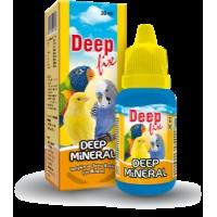 Deep Fix Mineral Kafes Kuşları İçin Mineral Takviyesi 30 ml