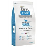 *Brit Care Junior Large Tahılsız Somonlu Büyük Irk Yavru Köpek Maması 3 Kg