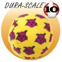 *Tuffy Mighty Balls Sesli Desenli Top Köpek Oyuncaği 10 Cm (Sari)