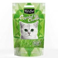 Kit Cat Frosted Lime Topaklanan Limon Kokulu Silika Kedi Kumu 4 Lt