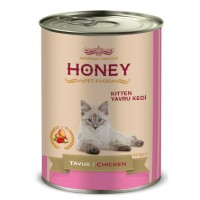 Honey Premıum Kitten Tavuklu Yavru Kedi Konservesi 415 Gr