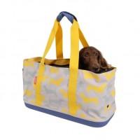 İbiyaya Daily Tote Kedi Ve Köpek Taşıma Çantası 44 cm (Yellow Mustard)