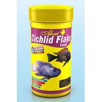 *Ahm Cichlid Flake Food Pul Balık Yemi 100 ml
