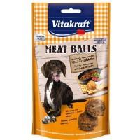 Vitakraft Meat Balls Yumuşak Köfte Köpek Ödülü 80 Gr