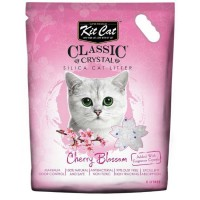 Kit Cat Cherry Blossom Kiraz Çiçeği Kokulu Silika Kedi Kumu 5 Lt