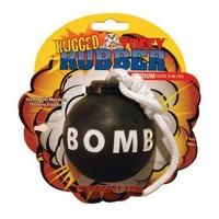 *Rugged Rubber Bomba Köpek Oyuncağı (Medium)