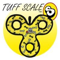 *Tuffy Jr 3 Way Tug Yumuşak Sesli Köpek Çekiştirme Oyuncağı 27 Cm