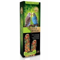 Gold Wings Premium Muhabbet Kuşlari İçin Meyveli Kraker 2'Li