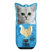 Kit Cat Fillet Fresh Chicken & Smoked Fish Fileto Tavuk Ve Balıklı Kedi Ödülü 30 Gr