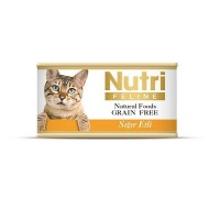 Nutri Feline Sığır Etli Tahılsız Yetişkin Kedi Konservesi 85 Gr