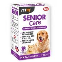 Mc Vetiq Senior Care +6 Yaş Üzeri Kedi ve Köpek Ek Besin Takviyesi 45 Tablet