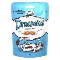 Dreamies İçi Dolgulu Somonlu Kıtır Kedi Ödülü 60 Gr