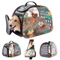 İbiyaya Transparent Kedi ve Köpek Taşıma Çantası 46 cm
