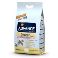 Advance Sensitive Salmon & Rice Somonlu Hassas Yetişkin Köpek Maması 3 Kg