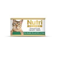 Nutri Feline Ton Balıklı Ve Tavuk Cigerli Tahılsız Yetişkin Kedi Konservesi 85 Gr