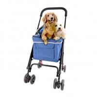 İbiyaya Astro Go Lite Pet Stroller Tekerlekli Kedi Ve Köpek Puseti