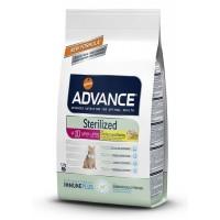 Advance Sterilised 10+ Yaş İçin Tavuklu Kısırlaştırılmış Kedi Maması 1.5 Kg