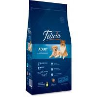Felicia High Premium Somonlu Yetişkin Köpek Maması 3Kg