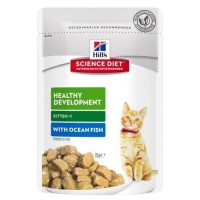 Hills Kitten Okyanus Balıklı Yavru Pouch Kedi Konservesi 85 Gr