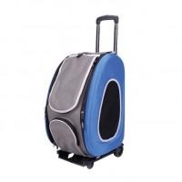 İbiyaya Eva Tekerlekli Mavi Kedi Ve Köpek Taşıma Çantası 50 cm