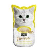 Kit Cat Purr Puree Chicken Hairball Tavuklu Tüy Yumagı Sıvı Kedi Ödülü 4x15 Gr