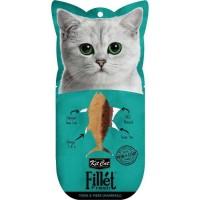 Kit Cat Fillet Fresh Tuna & Fiber Hairball Tüy Yumagı Ton Balıklı Kedi Ödülü 30 Gr