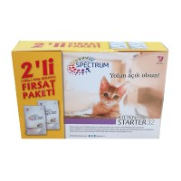 Spectrum Ultra Premium Kitten Starter 32 Yavru Kedi Başlangıç Maması 400 gr (+400 gr Hediyeli)