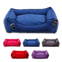 Lepus Soft Dokuma Kumaş Kedi ve Köpek Yatağı Medium 55x70x22h cm