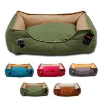 Lepus Soft Plus Mikrofiber Süet Kumaş Kedi ve Köpek Yatağı X-Large 80x105x22h cm