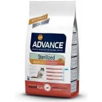 Advance Sterilised Somonlu Kısırlaştırılmış Yetişkin Kedi Maması 1,5 Kg