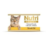 Nutri Feline Tavuklu Tahılsız Yetişkin Kedi Konservesi 85 Gr