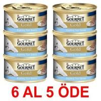 Gourmet Gold Kiyilmiş Ton Balikli Yetişkin Kedi Konservesi 85 Gr. (6 Al 5 Öde)