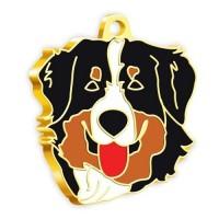 24 Ayar Altın Kaplama Avustralya Çoban Köpeği Köpek Künyesi